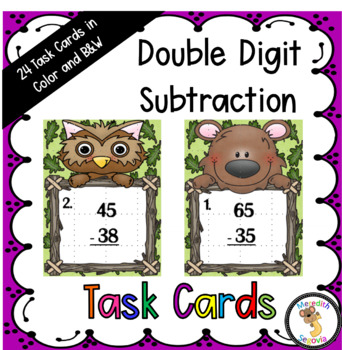Subtracting Two Two-Digit Numbers