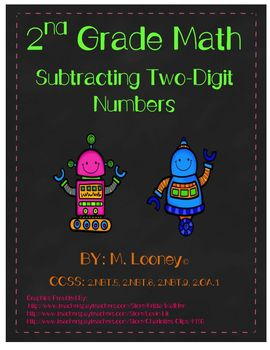 Subtracting Two- and One-Digit Numbers
