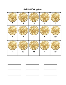 Activities with Australian Coins - 3 handouts + power point