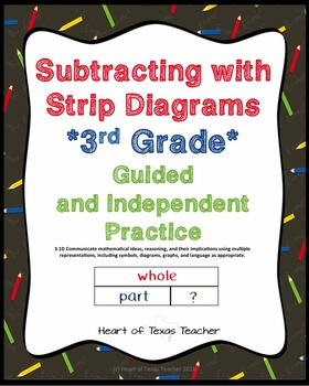 Subtracting With Strip Diagrams