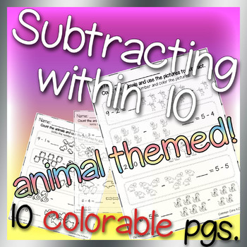 Subtracting Within 10