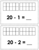 Subtracting Within 11-20 Math Center