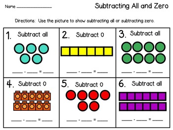 Subtracting Zero and All Freebie