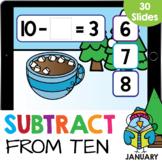 Subtracting from 10 Marshmallows Kindergarten Math Google