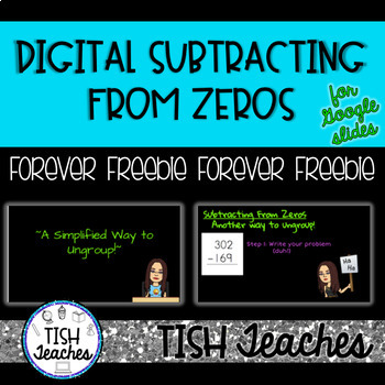 Subtracting from Zeros Google Slides & PowerPoint Presentation
