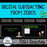 Subtracting from Zeros Google Slides & PowerPoint Presentation