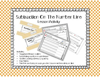 Subtracting on the Number Line: Lesson/Activity
