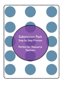 Subtraction Package (LD) USA version with Hundreds, Tens and Ones