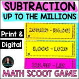 Subtracting up to the Millions - 4th Grade Subtraction - S