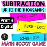 Subtracting up to the Thousands - 3rd Grade Subtraction -
