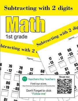 Subtracting with 2 digits