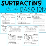 Subtracting with Base Ten- 3 Digits