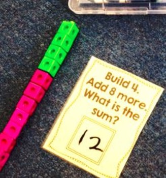 Subtracting with Blocks SPANISH