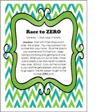 Subtracting with Borrowing Game - Race to Zero