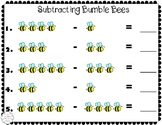 Subtracting with Bumble Bees