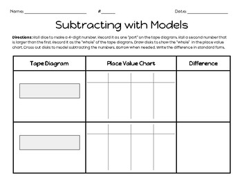 Subtracting with Models