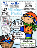 Subtracting with Regrouping Pack: Winter Edition!