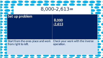 Subtracting with Regrouping Practice PowerPoint