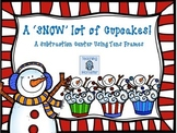 Subtracting with Tens Frames Math Center--A SNOW lot of Cupcakes