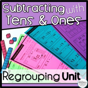 Subtraction Worksheets by Katelyn\'s Learning Studio | TpT