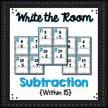Subtracting within 15