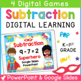 Subtraction Within 10 PowerPoint and Google Slides