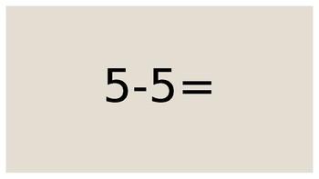 Subtraction (0-5) Slide Show