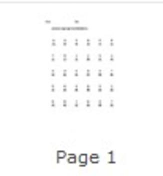 Subtraction 0-9 Worksheet