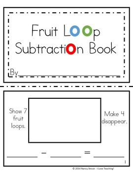 Subtraction For K and First Grade