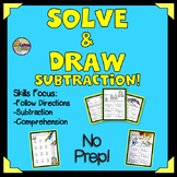 Subtraction Practice Puzzles and Glyphs