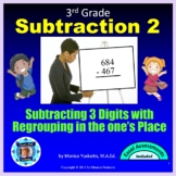 3rd Grade Subtraction 2 - 3 Digits with Regrouping in Tens Powerpoint Lesson