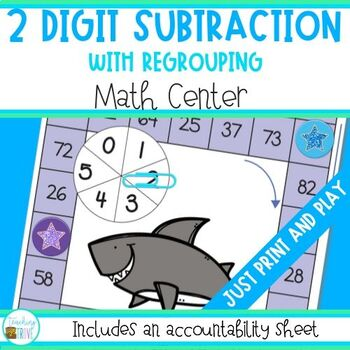 Subtraction - 2 Digit Numbers (with regrouping)