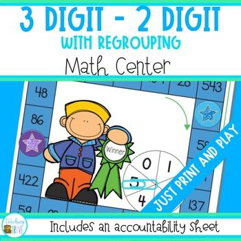 3 and 2 Digit Subtraction with regrouping