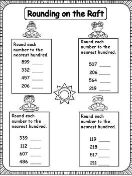 Third Grade Math Summer School Review