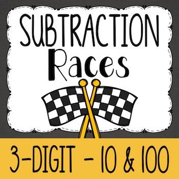 Subtraction {A Math Center Activity}