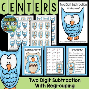 Subtraction With Regrouping Center A Quick and Easy to Prep Center Game