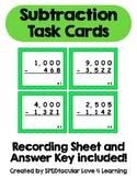 Subtraction Across Zero TASK CARDS!