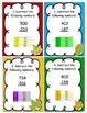 Subtraction Across Zero task cards