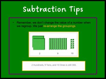Subtraction Across Zeroes (PowerPoint)