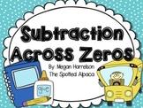 Subtraction Across Zeros Task Cards