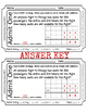 Subtraction Across Zeros - Exit Tickets & Answers - 4.NBT.4 - Grade 4