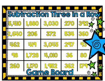 Subtraction Across Zeros Three in a Row