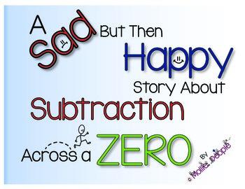 Subtraction Across a Zero:  A Story