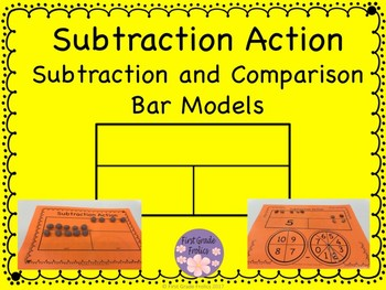 Subtraction Action Bar Models
