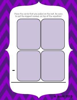 Subtraction Action: Double Digit Practice