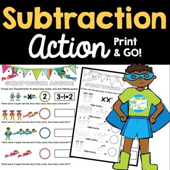 Subtraction Action Practice Problems