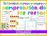 Subtraction Activities in Spanish