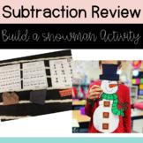 Subtraction Activity - Build a Snowman