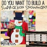 Subtraction Activity - Build a Snowman