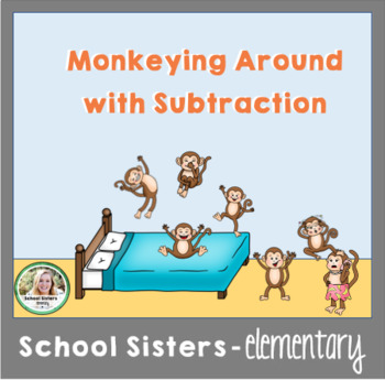 Subtraction Activity Game - Monkeys Jumping on the Bed